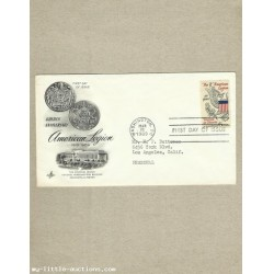 UNITED STATES THE AMERICAN LEGION FIRST DAY COVER 1969